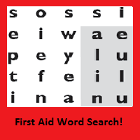 First Aid Word Search
