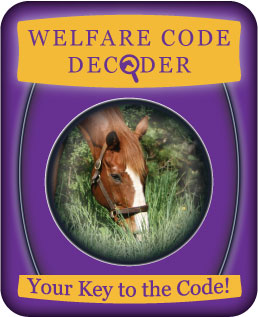 Welfare Code Decoder - your key to the code!