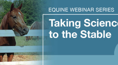 Equine Webinar Series: Taking Science to the Stable